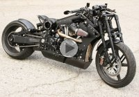 P120 Fighter Black Flag – by Confederate Motorcycles!