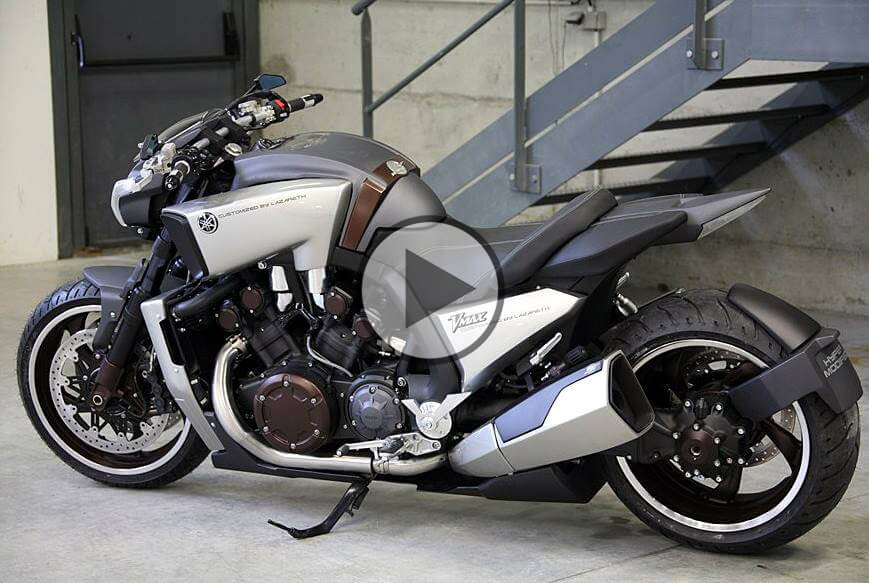 Drift School Usa >> A custom Yamaha V-Max by Ludovic Lazareth!