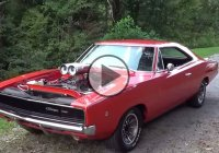 Cool Dodge Charger 1968 – The Ghost of General Lee!!