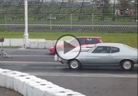 Honda Civic vs. Chevy Chevelle drag race! Aaaaand the winner is…?