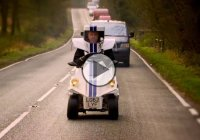 Jeremy Clarkson's P45, the smallest car in the world!