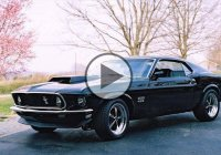 An insane Mustang Boss 429 drifting scene from the movie John Wick!