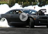 Steve Nogas and his KILLA-B Camaro hit the pad at Springnats 2012!!!