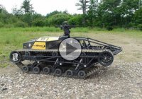 The MS1 tactical UGV Ripsaw – one of the fastest tracked vehicles!