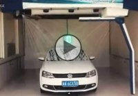 Two minute automatic Carwash invented in China! Hello, future!