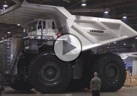 LIEBHERR T-284 – The largest mining truck in the world!
