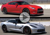 Which one is faster? Chevy Corvette Stingray or Nissan GTR?