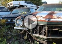 A graveyard of incredible American muscle cars in Japan!