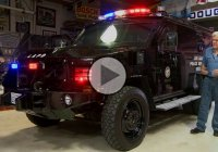 Lenco Bearcat, SWAT operations team's armored vehicle!