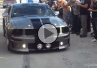 Ford Mustang Shelby Eleanor GT500, the loudest American muscle car!