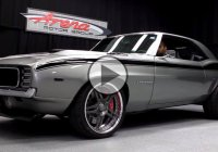 Completely customized 1969 Chevy Camaro by Resto-Mod!