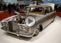 "1970 Hemi Blown Rolls Royce Dragster ""The Shadow""!"
