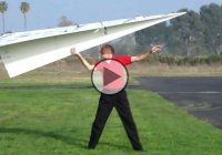 The World's Largest RC Paper Plane – 140 Inches Long!!