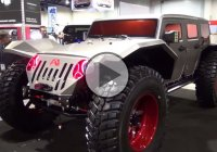 The Fab Fours Legend – A showstopping Jeep Wrangler!