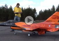 1:4 scale version of the RC F-16 jet aircraft! Hobby taken to the next level!