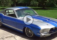 "Unique looking car ""M-67"" – a 1967 Ford Mustang Fastback by Alloway!"