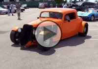 Custom Ford 535 Hot Rod! The classic Street Rod with a hint of modern!