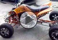 Yamaha Raptor – Custom quad bike with Yamaha R1 engine!