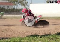 This Is Genius – 1/4 Scale MX 400 Off Road RC Motorcycle Race!