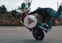 One Of The Best Street Bike Stunt Riders In The World: Martin Kratky!
