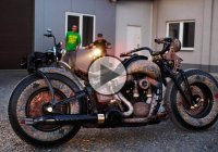 "The World's First TATTOOED Motorcycle – ""The Recidivist"""