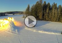 The Stunt Freaks Team Ice Drifting With High Speeds & Explosions!!