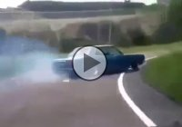 Awesome – Exiting The Highway With A Drift!!