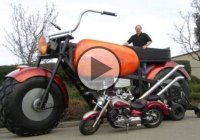 "The ""Big Dream"" Motorcycle Is One Of The Largest Motorcycles In The World And It's Fully Drivable!"