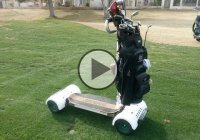 The GolfBoard Just Made Golfing A Lot Cooler!!