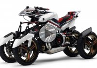 Awesome Four Wheel Motorcycle Concept – YAMAHA Tesseract!!