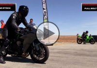 Kawasaki Tests Their New Turbo H2 vs Bolt on ZX10R!