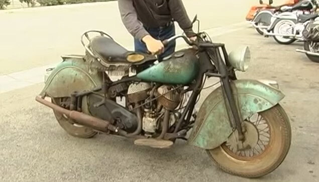 Extreme Cars And Trucks Riverside >> Old Indian motorcycles never die - 1948 Indian Chief ...