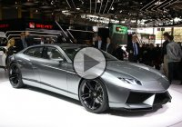 The First Lamborghini Sedan Ever – The Lamborghini Estoque!!