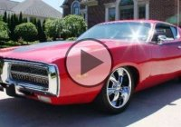 Iconic 1972 Dodge Charger, the ultimate American muscle!