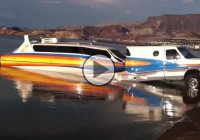 Is it a boat or an RV? Or both? Check out the best way to launch a boat!