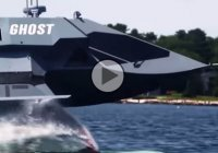 """The Ghost"", a super-stealth warship that is invisible for the hostile radars!"