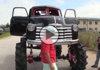 """SICK 50"" – a 1950 Chevrolet Megatruck that's making 1300 HP!!!"