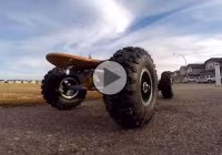 RC electric off-road skateboard, perfect for adventures!