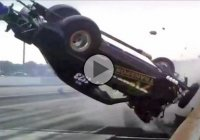 Drag racing can go really wrong! Too much power can be disastrous!