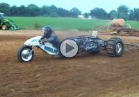 """Wild Thing"" – a nitromethane powered off-road motorcycle!"