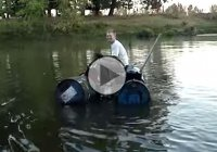 An improvised Jet Ski – for when you can not afford the real deal…