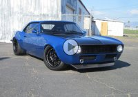 """Blu Balz"", the funniest name they could give to this 1968 Camaro!"