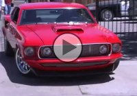 Custom 1969 Mustang Fastback with rare aluminum 494 cubic inch engine!