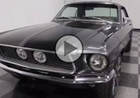Outstanding 1967 Ford Mustang with intimidating looks!