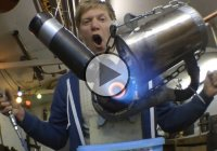 How to build a jet engine using only a drill and a grinder!