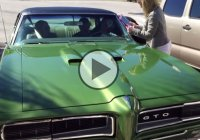 A 1969 Pontiac GTO given as a gift from Joe to his father for his 60th birthday!