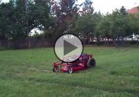"""The Branmower BR200"" – Remote control lawn mower!"