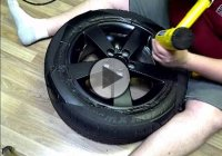 How to wrap your rims in Matte Black Vinyl in 30 minutes!