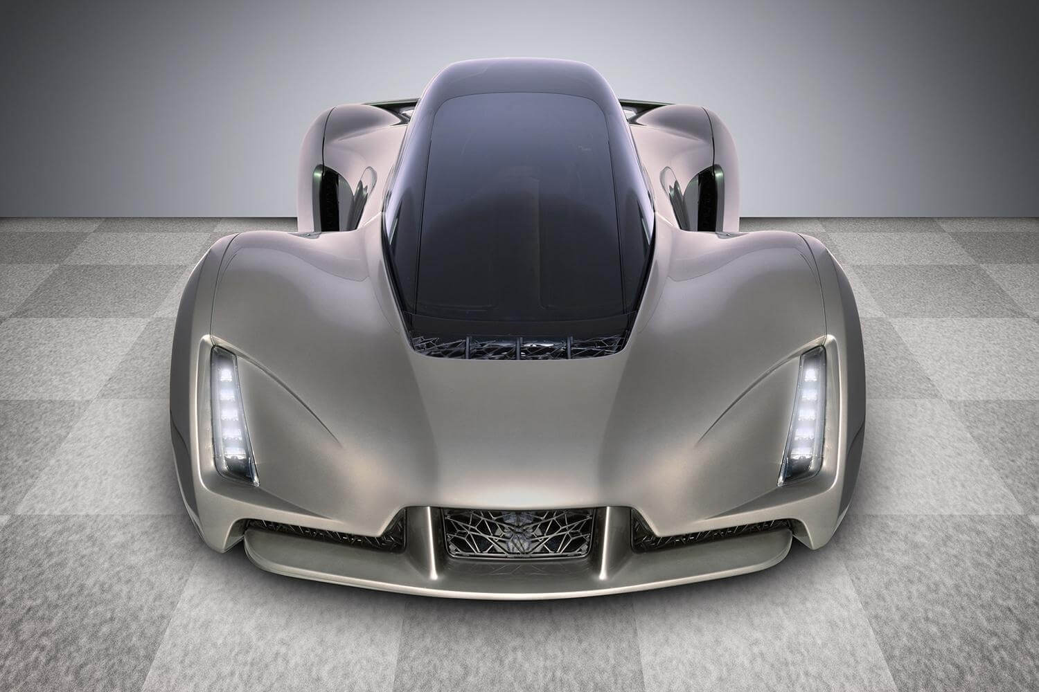 3D Printed High Performance Car