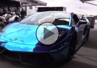 Three Lamborghinis Hit The Half Mile – Horsepower Level: 6000!!!